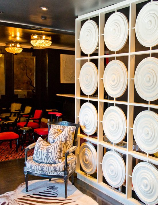 Modern art at the Maison 140 Hotel located at the heart of Beverly Hills